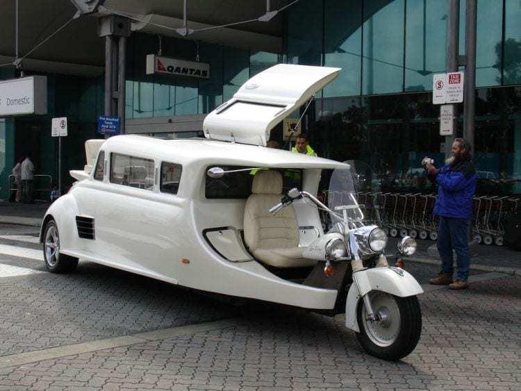 Executive Motorcycle Limousine